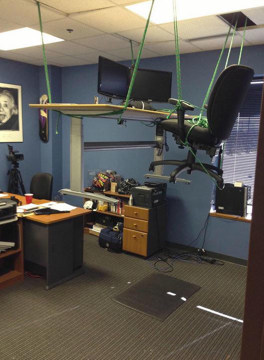 oficina volando