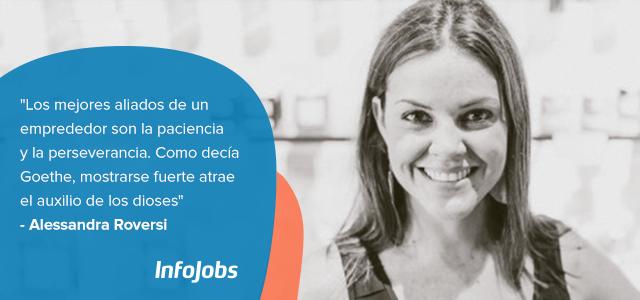 Alessandra Roversi emprendedora