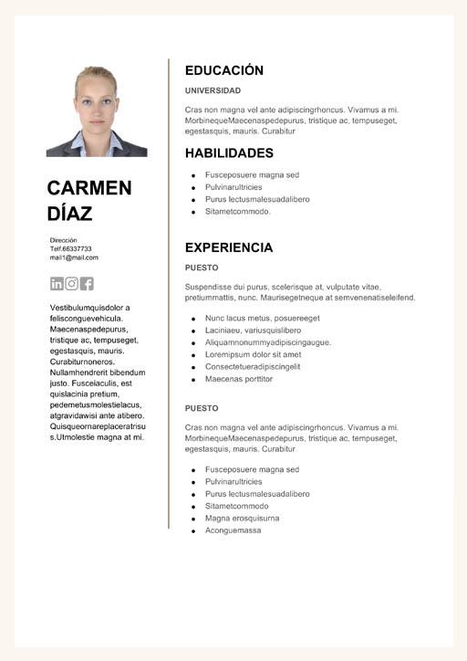 curriculum vitae argentina clasico