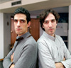 Gabriel Mora y Juan Luis Saldaña