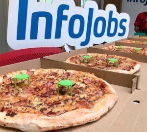 Comer pizza te hace más productivo en el trabajo