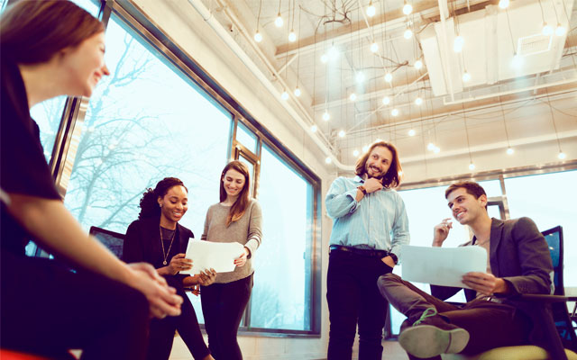 Jefes más jóvenes con mayor creatividad
