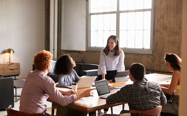 Jefes jóvenes que aportan nuevas formas de trabajar