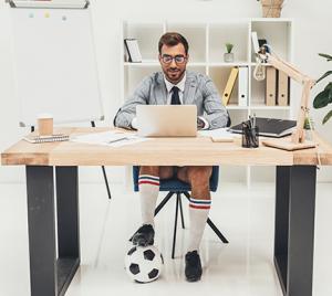 ¿Qué estrella de fútbol eres en la oficina?