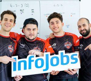 InfoJobs patrocina al equipo de eSports de ASUS ROG Army