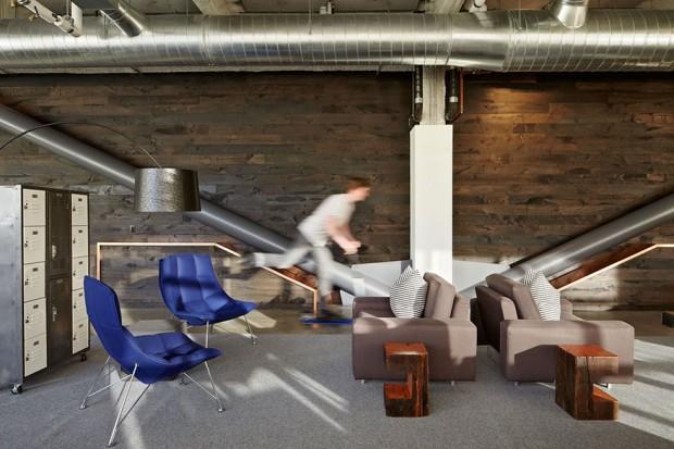 Oficinas modernas espacios abiertos Dropbox