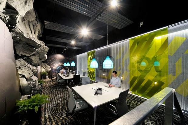 Google oficinas modernas para trabajar