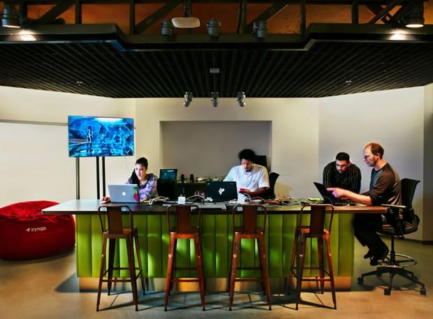 Oficinas modernas para gamers