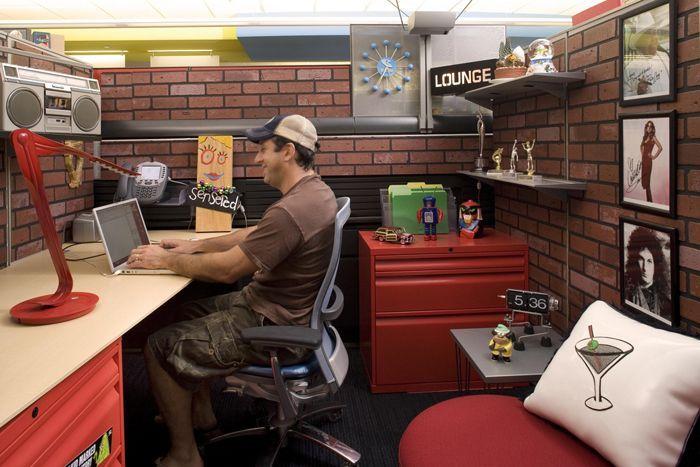 Despachos modernos de las oficinas de Cartoon Network