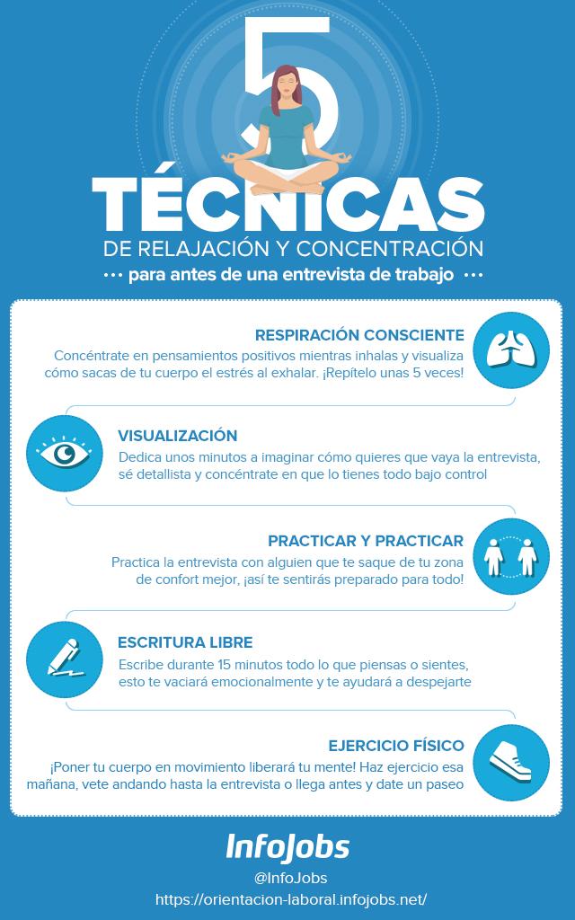 infografía-técnicas-relajación-infojobs